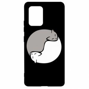 Etui na Samsung S10 Lite Cats love black and white