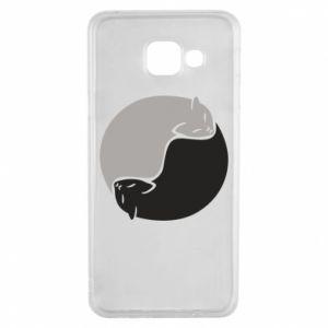 Etui na Samsung A3 2016 Cats love black and white