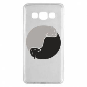 Etui na Samsung A3 2015 Cats love black and white
