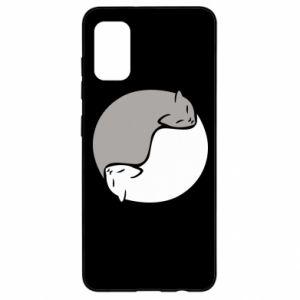 Etui na Samsung A41 Cats love black and white