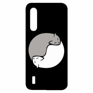 Etui na Xiaomi Mi9 Lite Cats love black and white