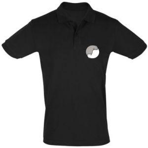 Koszulka Polo Cats love black and white