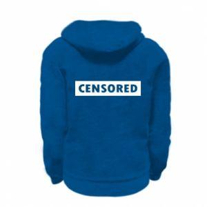 Bluza na zamek dziecięca Censored