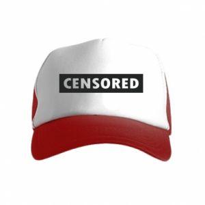 Czapka trucker dziecięca Censored