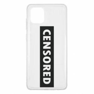 Etui na Samsung Note 10 Lite Censored