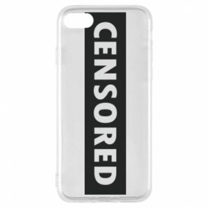 Etui na iPhone 7 Censored
