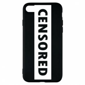 Etui na iPhone 8 Censored