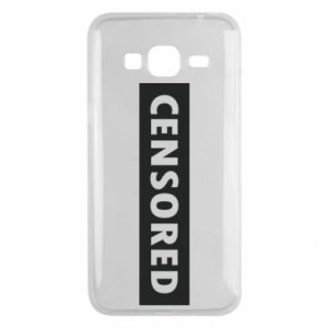 Etui na Samsung J3 2016 Censored