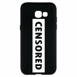 Etui na Samsung A5 2017 Censored