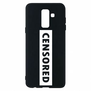 Etui na Samsung A6+ 2018 Censored
