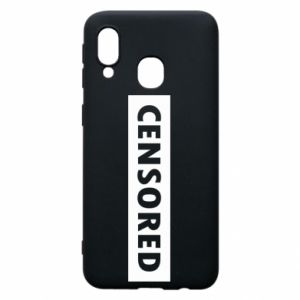 Etui na Samsung A40 Censored
