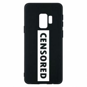 Etui na Samsung S9 Censored