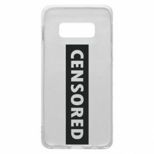 Etui na Samsung S10e Censored