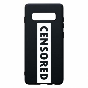 Etui na Samsung S10+ Censored