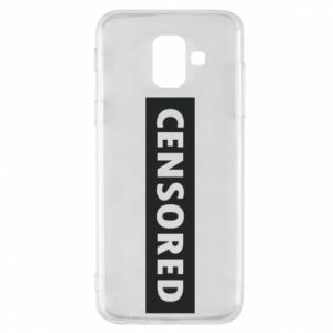 Etui na Samsung A6 2018 Censored
