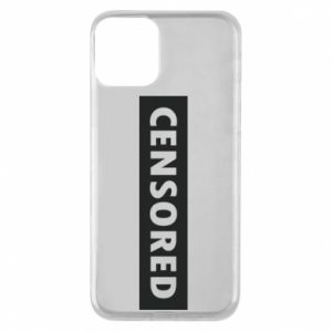 Etui na iPhone 11 Censored