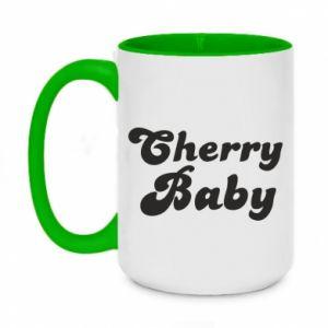 Kubek dwukolorowy 450ml Cherry baby