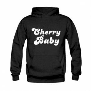 Bluza z kapturem dziecięca Cherry baby