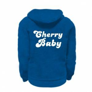 Bluza na zamek dziecięca Cherry baby