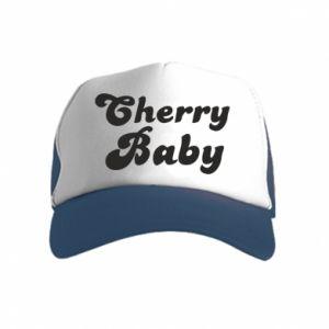 Czapka trucker dziecięca Cherry baby
