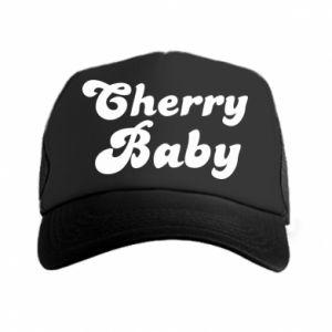 Czapka trucker Cherry baby