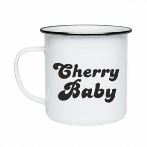 Kubek emaliowane Cherry baby