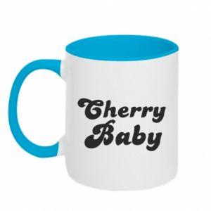 Kubek dwukolorowy Cherry baby
