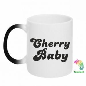 Kubek-kameleon Cherry baby