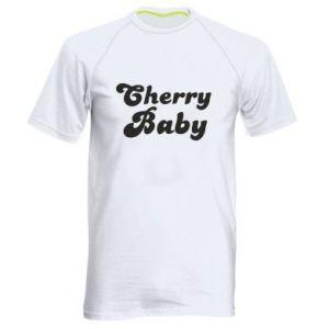 Męska koszulka sportowa Cherry baby