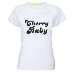 Damska koszulka sportowa Cherry baby