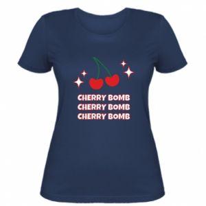 Women's t-shirt Cherry bomb