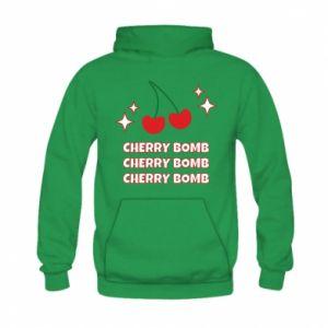 Bluza z kapturem dziecięca Cherry bomb