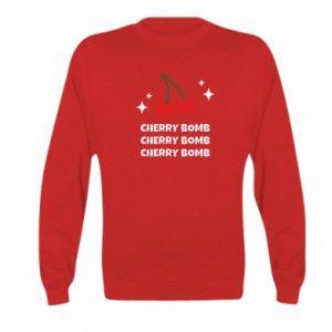 Bluza dziecięca Cherry bomb