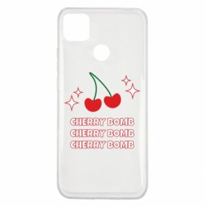 Etui na Xiaomi Redmi 9c Cherry bomb