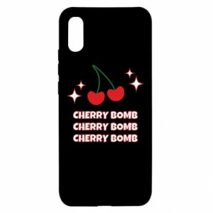 Etui na Xiaomi Redmi 9a Cherry bomb