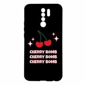 Etui na Xiaomi Redmi 9 Cherry bomb