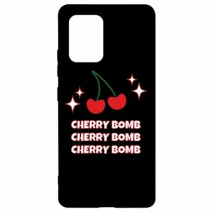 Etui na Samsung S10 Lite Cherry bomb