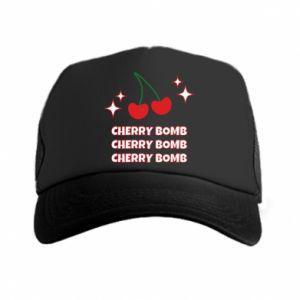 Czapka trucker Cherry bomb