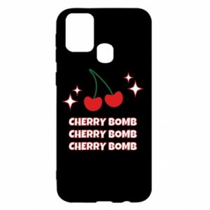 Etui na Samsung M31 Cherry bomb