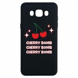 Etui na Samsung J7 2016 Cherry bomb