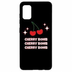 Etui na Samsung A41 Cherry bomb