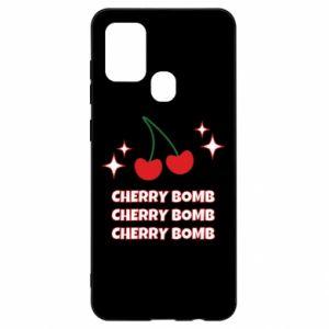 Etui na Samsung A21s Cherry bomb