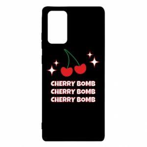 Etui na Samsung Note 20 Cherry bomb