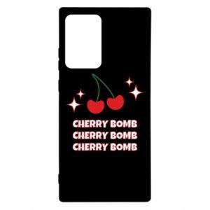 Etui na Samsung Note 20 Ultra Cherry bomb