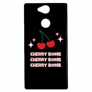 Etui na Sony Xperia XA2 Cherry bomb