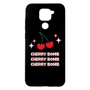 Etui na Xiaomi Redmi Note 9/Redmi 10X Cherry bomb