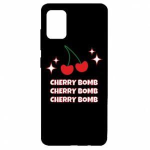 Etui na Samsung A51 Cherry bomb