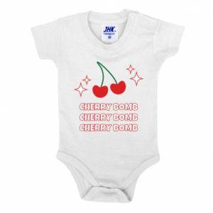 Baby bodysuit Cherry bomb