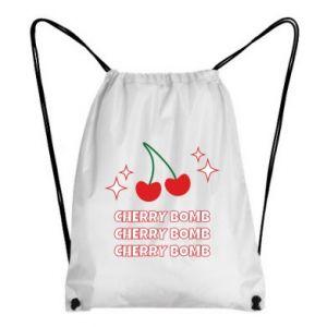 Backpack-bag Cherry bomb