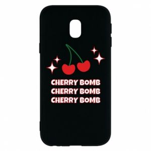 Etui na Samsung J3 2017 Cherry bomb